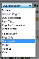 Filename presets