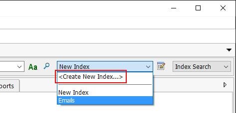 CreateNewIndex